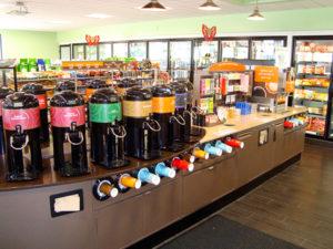 Convenience Store Coffee Bar